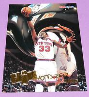 Patrick Ewing Ny Knicks Hipnotized Nba Hoops Skybox 1996 Nba Basketball Card