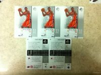 Justin Harper Richmond Spiders Rookie Standout 5-Card Lot 2011-12 SP Basketball