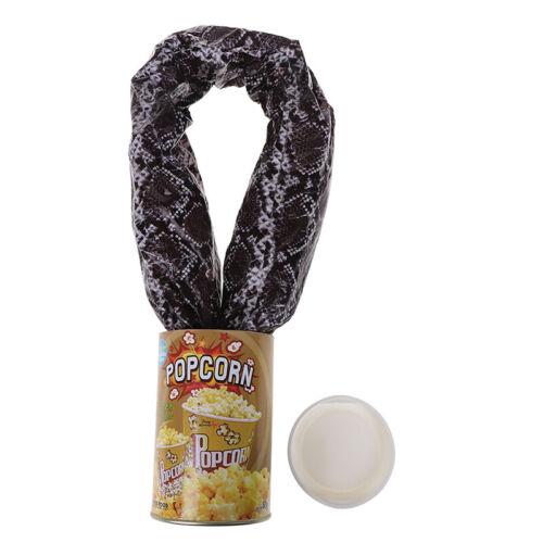 Funny Potato Chip Can Jump Spring Snake Toy Gift Jokes Prank Trick Fun Joke R/_yk
