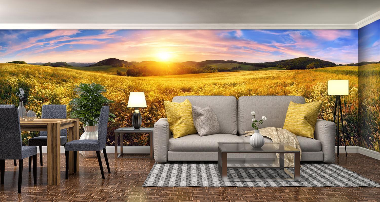 3D Sunset Sky Nature 8 Wall Paper Murals Wall Print Wall Wallpaper Mural AU Kyra