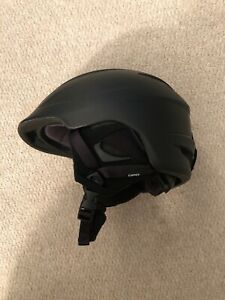 GIRO-SEAM-Adult-Ski-Snowboard-SNOW-HELMET-Matte-Black-Size-ADULT-LARGE-NEW