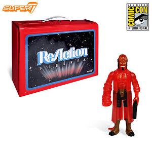 Super7 Sdcc 2018 Exclusif Rouge Transparent Hellboy Reaction 3.75   Super7 Sdcc 2018 Exclusif Rouge Transparent Hellboy Reaction 3.75