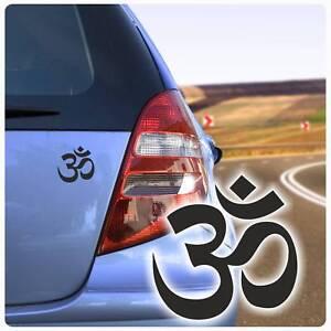 Om Zeichen Symbol Energie Auto Aufkleber Sticker Reiki