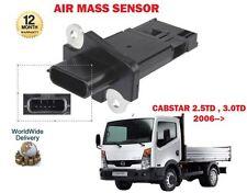 FOR NISSAN CABSTAR TRUCK F24 2.5TD 3.0TD 2006--> NEW AIR MASS SENSOR