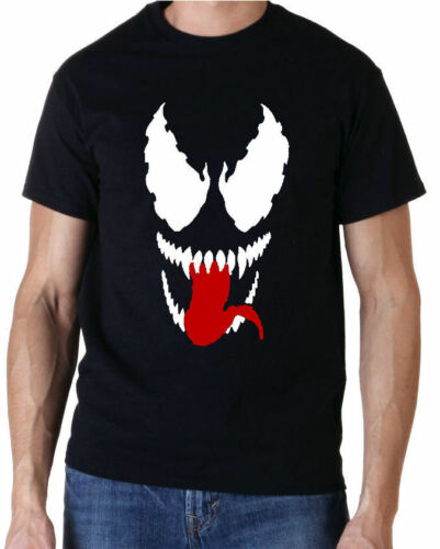 Venom Mask Superhero Spiderman Comic Kids T-shirt