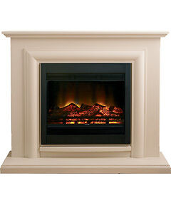 Stunning-Be-modern-B-amp-Q-Avensis-electric-fire-fireplace-suite-RRP-599