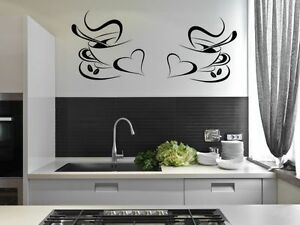 2-Coffee-Cups-Kitchen-Wall-Stickers-Cafe-Vinyl-Art-Decals
