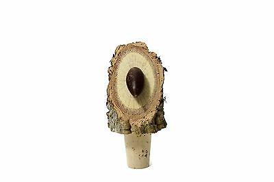 Natural rustic tapered cork stopper bottle decorative acorn genuine Portuguese
