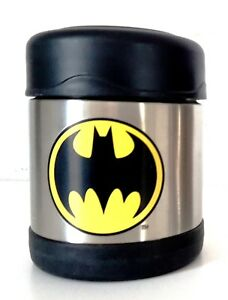 Thermos-FUNtainer-Food-Jar-Batman-Stainless-Steel-Insulated-10-oz-Brand-New