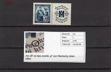 """Boemia & Moravia n. 53 i ** il secondo """"e"""" in nemecky rotto (aa-53-1)"""