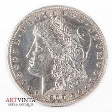 1900 Morgan One Dollar Silver Silber Münze USA Amerika Coin Liberty