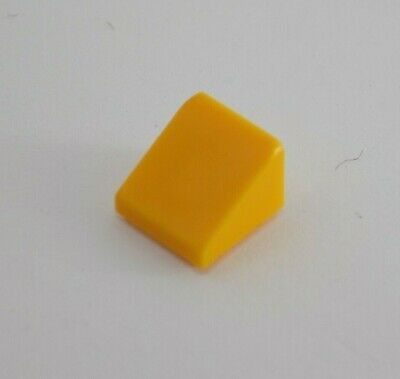Lego 10x slope brick roof slope brick roof 30 ° 1x1x2//3 trans orange 54200 new