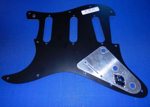 Fender Stratocaster Deluxe Series Strat Black PICKGUARD Extra Switch Route 3 Ply