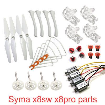 SYMA X8SW X8PRO Motor Engine Base Propeller Landing Gear Tripod Protective Frame