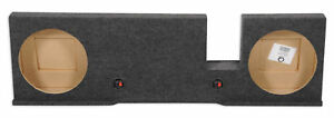 "Dual 12"" Subwoofer Sub Box Enclosure For 2004-2008 Ford F150 Xcab or SuperCrew"