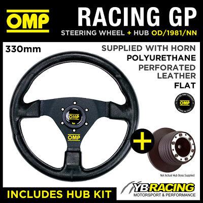 Omp OD//1981//NN OMPOD 1981 Black NN Racing GP Steering Wheel Unique