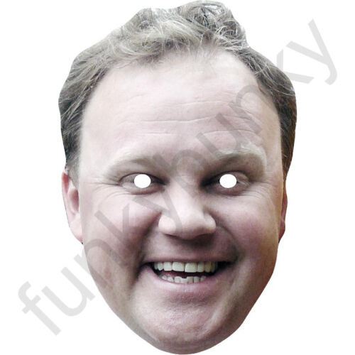 Justin Fletcher Children/'s TV Presenter Card Mask All Our Masks Are Pre-Cut!
