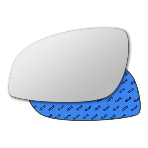 Left Hand Passenger Side Mirror Glass for Vauxhall Vectra C 2002-2008 0016LS