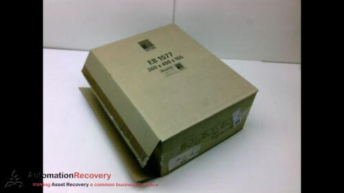 NEMA 4 NE #191955 SHEET STEEL PANEL RITTAL EB 1577 ENCLOSURE WITH HINGED DOOR