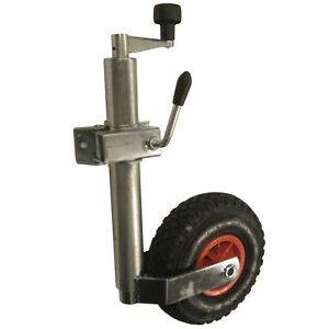 Heavy-duty-pneumatic-jockey-wheel-and-clamp-48MM-TR005