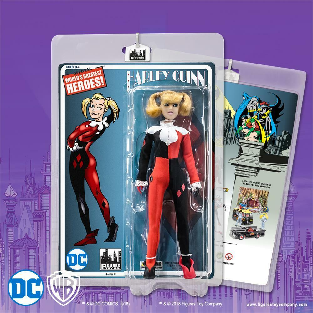 DC Comics Batman Retro 8 inch Action Figure Harley Quinn  NEW