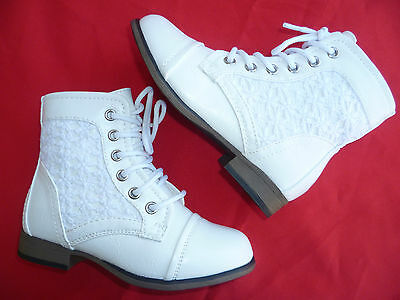 WHITE YOUTH GIRLS BOOTS CHAPTER SIZE 9-4