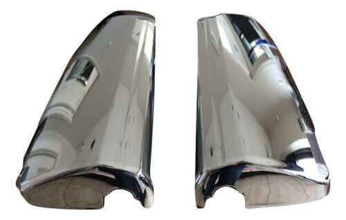 Volvo Vnl Door Mirror Cover Chrome With Curved Back 2004-2018Pair RH /& LH