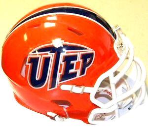 UTEP Texas El Paso Miners Riddell NCAA Replica Revolution ...