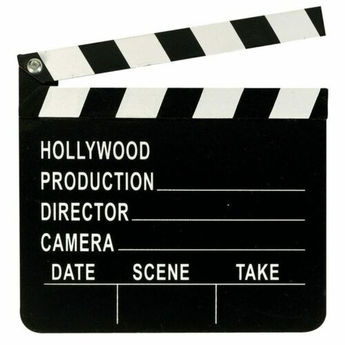 NEW Themed   Film /& TV Hollywood Director/'s Clapboard
