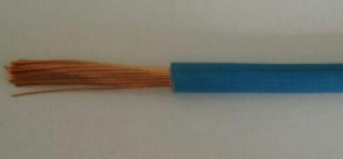 Einzelader H07V-K 10 qmm blau Preis pro meter,Lieferung in einer Länge