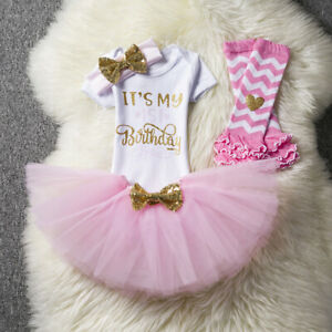 Girls-1st-Birthday-Tutu-Dress-Sets-LOCATED-IN-amp-POSTED-FROM-AUSTRALIA