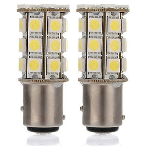 2pcs-P21-5W-27SMD-5050-1157-BAY15D-Car-White-12V-LED-Tail-Brake-Light-Bulb-Lamps