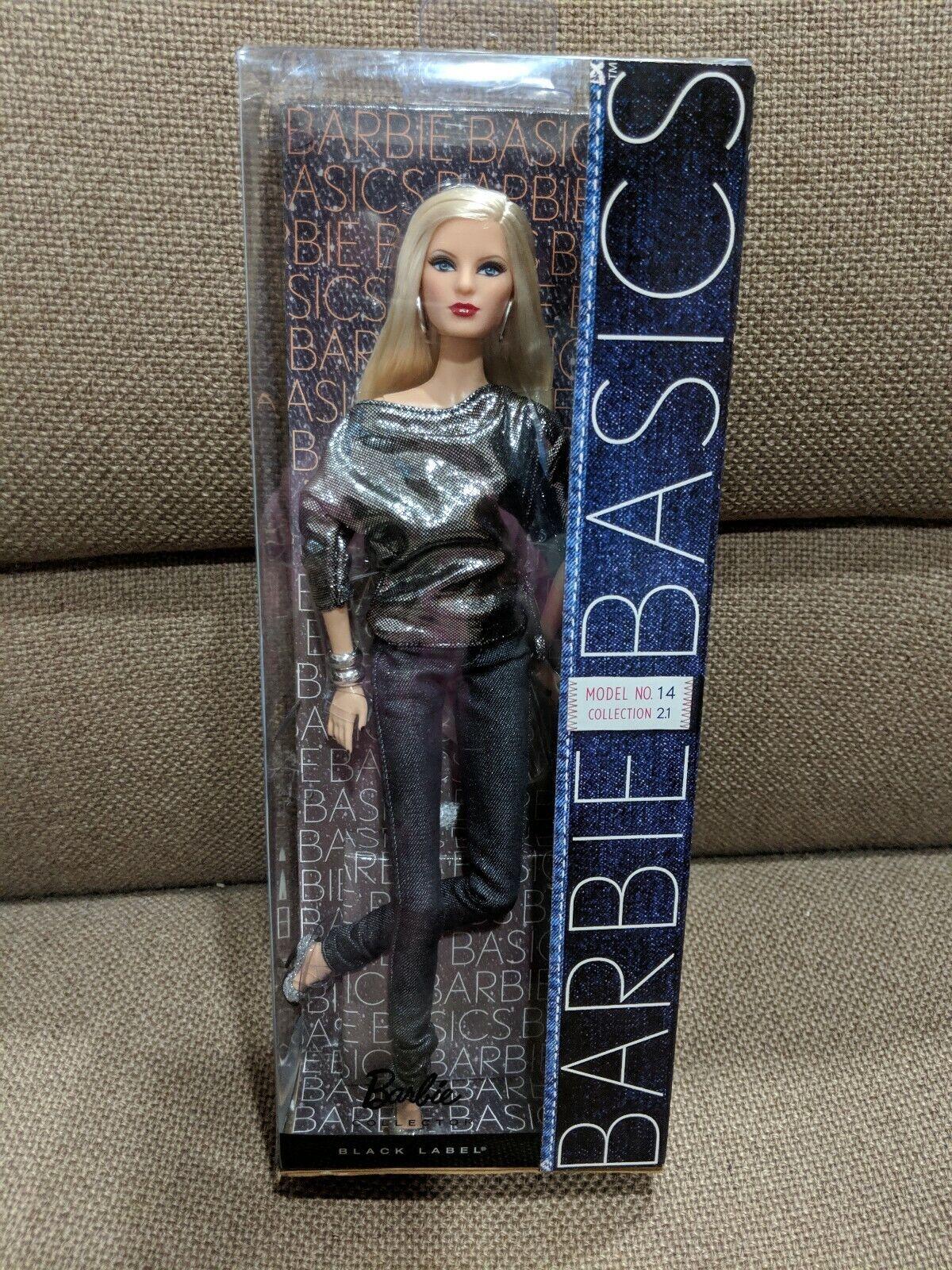Barbie Basics Coleccion 2.5 no 14 Muñeca. negro Label