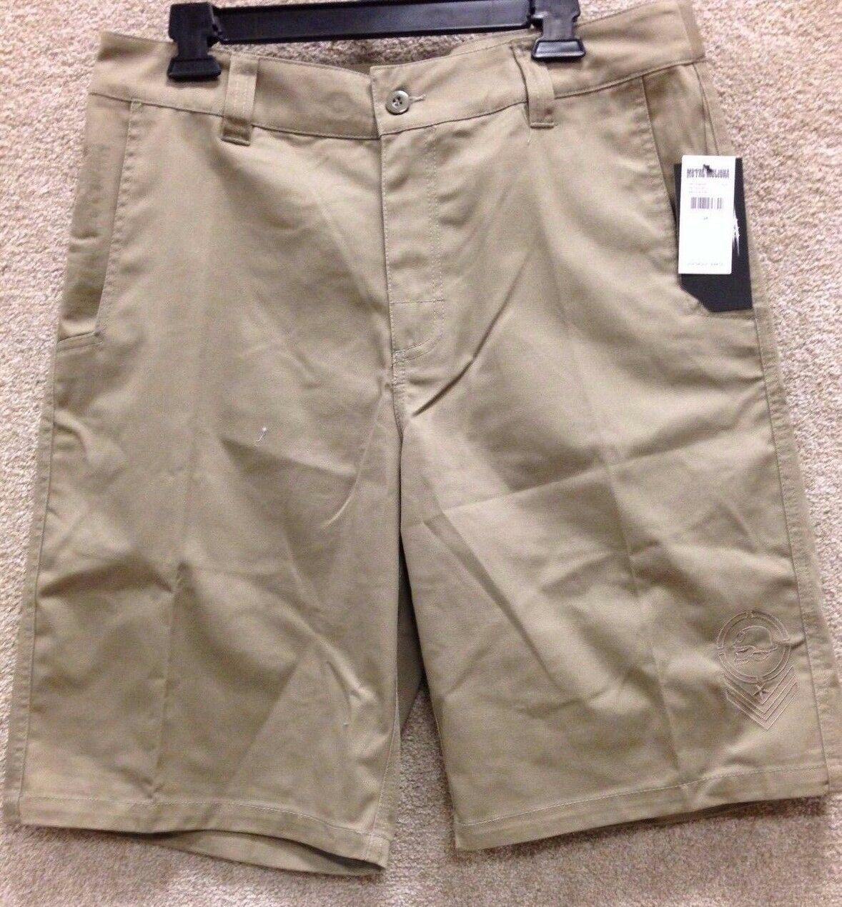 Metal Mulisha Men's Shorts  RE-Issue V  --Khaki