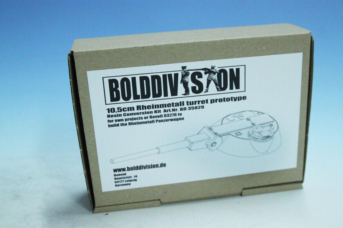 BoldDivision 1 35 BD35029 10,5cm Rheinmetall turret prototype