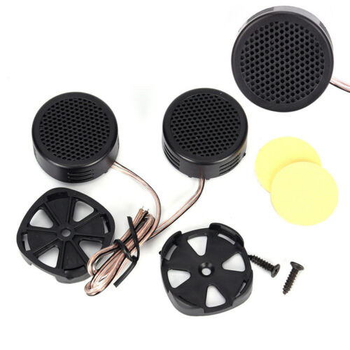 2Pcs 500 Watts Car Audio Super Power Loud Dome Stereo Tweeters Speakers For Car#