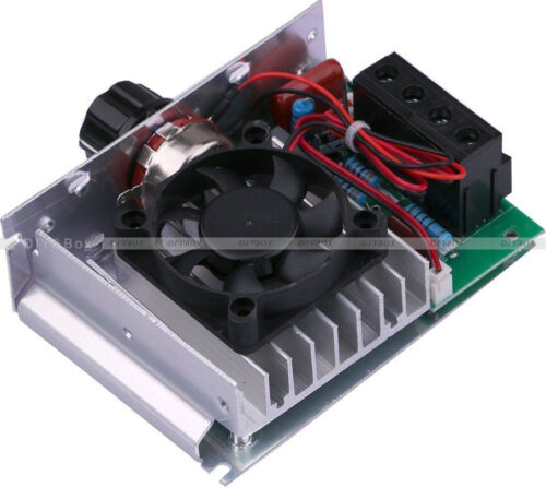 AC 110V 10000W SCR Electronic Voltage Regulator Motor Control Thermostat