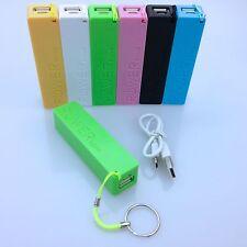 Powerbank Akku 2600mAh USB Ladegerät Universal Smartphone Power Bank inkl. Kabel