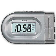 Casio DQ543 Digital Battery Beep Bedside Alarm Clock Snooze LED Backlight Silver