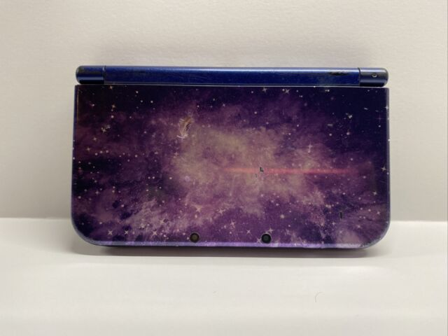 """New"" Nintendo 3DS XL Galaxy Style Purple Handheld Console"