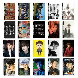 Lot-of-set-cute-KPOP-EXO-EXO-SC-Album-Personal-Collective-Photocard-Lomo-Cards