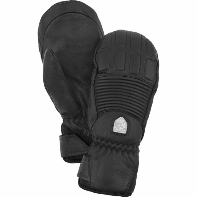 Hestra Leather Fall Line Mittens Women s Ski Snowboard Color Black Large 8 58bbe48312