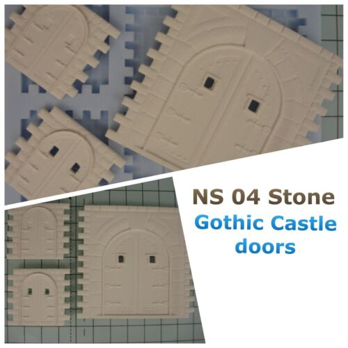 NS04 Stone Building Mould Model Railway Scenery OO Gauge