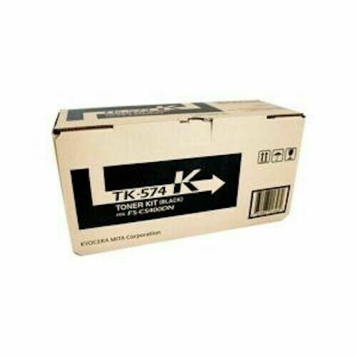 Kyocera TK-574K Black Laser Toner Cartridge for FS-C5400DN - New Genuine