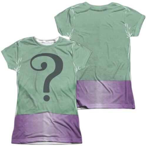 Details about  /Batman Classic TV Series Riddler Uniform Juniors All Over Print T-Shirt