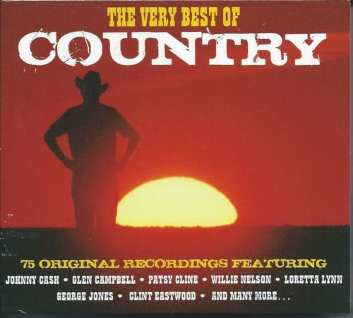 1 of 1 - The Very Best of Country - 75 Original Recordings (3CD 2013) NEW/SEALED