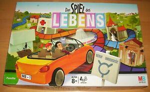 Das-Spiel-des-Lebens-MB-neuere-Ausgabe-im-Top-Zustand
