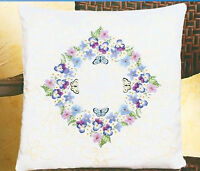 Candlewicking Embroidery Kit Janlynn Floral Fantasy Pillow / Picture 004-0859