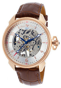 Lucien-Piccard-Trevi-Mechanical-Mens-Watch-LP-40052M-RG-02S-BRW