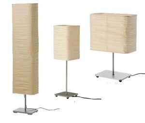 ikea magnarp stehlampe standleuchte leseleuchte fluter lampe licht led papier ebay. Black Bedroom Furniture Sets. Home Design Ideas